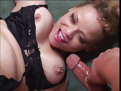 Hot MILF in action with a young cock