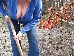 Busty peasant wife
