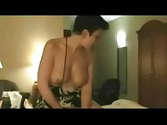 Horny Mature Cheating Wife love riding Lover's Cock