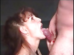 90's German Housewife Gets It! Hard Interracial MMMF 4Way.